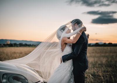 Sposi con velo