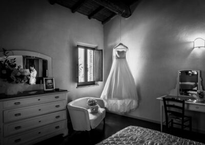 camera sposa