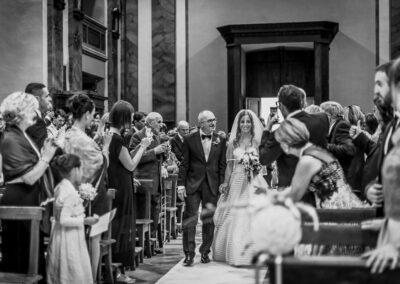 entrata sposa con papà