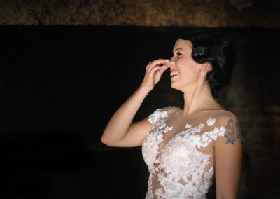 Sposa emozione