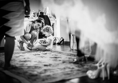 preparazione sposa Castello di Rosciano