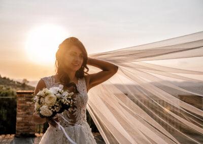 Sposa con velo