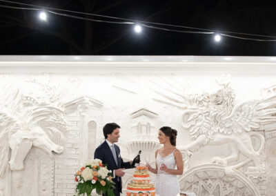 Taglio del dolce matrimonio