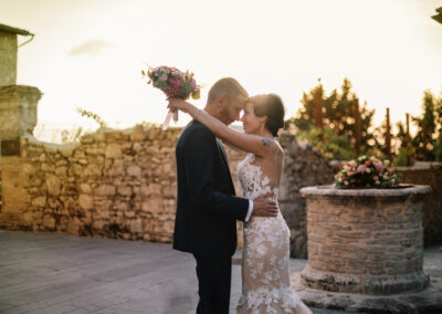 matrimonio foto sposi