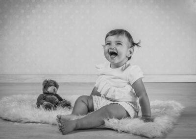 Baby portrait bambina