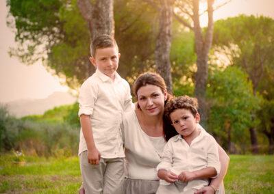 Family portrait in esterni