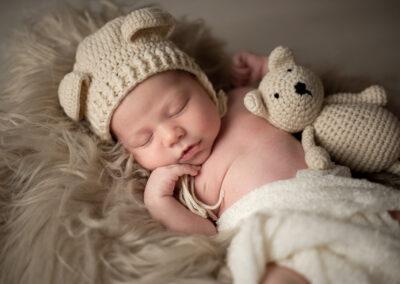 newborn foto in studio