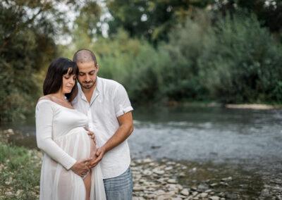 gravidanza in esterni