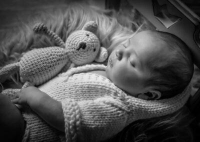 newborn foto a studio